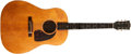 Musical Instruments:Acoustic Guitars, Early 1950s Gibson J-45 Natural Acoustic Guitar, #3813-31....