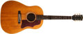 Musical Instruments:Acoustic Guitars, 1965 Gibson J-50 Natural Acoustic Guitar, #224245....