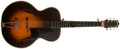 Musical Instruments:Acoustic Guitars, Late-1930s or '40s Gretsch Model 35 Sunburst Archtop Guitar, #5864....