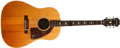 Musical Instruments:Acoustic Guitars, 1968/69 Epiphone Texan Natural Acoustic Guitar, #873559....