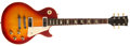 Musical Instruments:Electric Guitars, 1974 Gibson Les Paul Deluxe Cherry/Sunburst Electric Guitar, #500380....