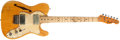 Musical Instruments:Electric Guitars, 1972 Fender Telecaster Thinline Natural Electric Guitar, #371898....