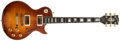 Musical Instruments:Electric Guitars, 1981 Gibson Les Paul Custom Sunburst Electric Guitar, #80691577....
