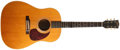 Musical Instruments:Acoustic Guitars, 1965-1967 Gibson J-50 Natural Acoustic Guitar, #329461....