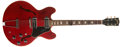 Musical Instruments:Electric Guitars, 1968 Gibson ES 330 Cherry Electric Guitar, #947637....