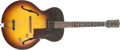 Musical Instruments:Electric Guitars, 1958 Gibson ES-125-T Sunburst Electric Guitar, #T761118....