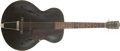 Musical Instruments:Acoustic Guitars, Late 1930s Gibson Special #4 Black Acoustic Guitar #9830....