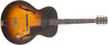 Musical Instruments:Electric Guitars, 1951 Gibson ES-125 Sunburst, #693221.... (Total: 2 Item )