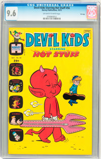 Devil Kids Starring Hot Stuff #56 File Copy (Harvey, 1972) CGC NM+ 9.6 Off-white to white pages