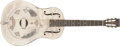 Musical Instruments:Resonator Guitars, 1930-1933 National Style O Nickel-plated Resophonic Guitar, #S2665....
