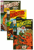 Silver Age (1956-1969):Horror, Where Monsters Dwell Group (Marvel, 1970-74) Condition: AverageVF.... (Total: 26 Comic Books)