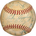 Autographs:Baseballs, 1954 Chicago White Sox Old Timers Multi-Signed Baseball with Walsh,Faber, Schalk....