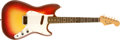 Musical Instruments:Electric Guitars, Early 1960s Fender Music Master Sunburst Electric Guitar, #66460....