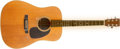 Musical Instruments:Acoustic Guitars, 1967 Martin D-28 Natural Acoustic Guitar, #219476....
