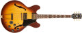 Musical Instruments:Electric Guitars, Early 1970s Gibson ES 345 Sunburst Electric Guitar, #140507....