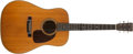 Musical Instruments:Acoustic Guitars, 1955 Martin D-28 Natural Acoustic Guitar, #147141....