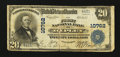 National Bank Notes:West Virginia, Ripley, WV - $20 1902 Plain Back Fr. 658 The First NB Ch. # 10762....
