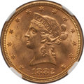 Liberty Eagles: , 1882 $10 MS63 NGC. NGC Census: (677/61). PCGS Population (295/33).Mintage: 2,324,480. Numismedia Wsl. Price for problem fr...