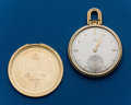 Timepieces:Pocket (post 1900), Omega, 14k Gold, 45 mm, Open Face. ...