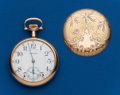 Timepieces:Pocket (post 1900), Waltham, Choice, 21 Jewel, 16 Size Crescent Street. ...