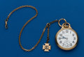 Timepieces:Pocket (post 1900), Hamilton, 992 Elinvar, With Chain & B of LE Fob. ...
