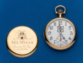 Timepieces:Pocket (post 1900), Illinois, 21 Jewel, Santa Fe Special, Railroad Inspector's Watch....