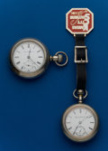 Timepieces:Pocket (post 1900), Two - Elgin, 18 Size Pocket Watches. ... (Total: 2 Items)