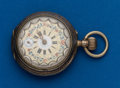 Timepieces:Pocket (post 1900), Swiss, Fancy Dial 12 Size. ...