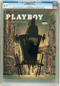 Magazines:Vintage, Playboy V2#5 (HMH Publishing, 1955) CGC VF 8.0 White pages....