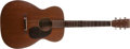Musical Instruments:Acoustic Guitars, 1940 Martin 00-17 Natural Acoustic Guitar, #74400....