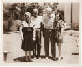 Autographs:Photos, 1948 Babe Ruth Signed Photograph to His Sister....