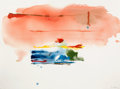 Post-War & Contemporary:Abstract Expressionism, HELEN FRANKENTHALER (American, 1928-). Santa Fe II, 1986.Mixed media on paper. 22 x 30 inches (55.9 x 76.2 cm). Signed ...
