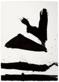 Paintings, ROBERT MOTHERWELL (American, 1915-1991). Spontaneity No. 4, 1966. Acrylic on paper. 30-1/2 x 22-1/4 inches (77.5 x 56.5 ...