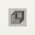 Prints:Contemporary, SOL LEWITT (American, 1928-2007). Forms Derived from a Cube (setof 16), 1984. Screenprints. Each: image: 4 x 4 inches (...(Total: 16 Items)