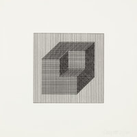 SOL LEWITT (American, 1928-2007) Forms Derived from a Cube (set of 16), 1984 Screenprints Each: i