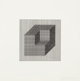 SOL LEWITT (American, 1928-2007) Forms Derived from a Cube (set of 16), 1984 Screenprints Each: image: 4 x 4 inches (...