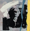 Post-War & Contemporary:Pop, RICHARD PETTIBONE (American, b. 1938). Andy Warhol, 1976.Acrylic and silkscreen ink on canvas. 3 x 3 inches (7.6 x 7.6 ...