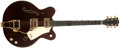 Musical Instruments:Electric Guitars, Late-1970s Gretsch 7660 Burgundy Electric Guitar, #99466....