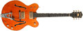 Musical Instruments:Electric Guitars, Early-1970s Gretsch 6120 / Nashville Orange Electric Guitar,#81091....