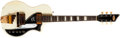 Musical Instruments:Electric Guitars, Late-1950s Supro Dual Tone White Electric Guitar, #X70180....
