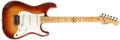 Musical Instruments:Electric Guitars, 1983 Fender Stratocaster Sienna Burst Electric Guitar, #E337333....