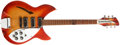 Musical Instruments:Electric Guitars, 1966 Rickenbacker 345 Fireglow Electric Guitar, #FK3722....