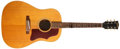 Musical Instruments:Acoustic Guitars, 1966 Gibson J-50 ADJ Natural Acoustic Guitar, #858722....