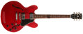 Musical Instruments:Electric Guitars, 2006 Gibson ES-335 Cherry, #1946708....