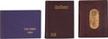 Football Collectibles:Publications, 1909-26 Notre Dame Yearbooks Lot of 3....