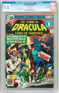 Bronze Age (1970-1979):Horror, Tomb of Dracula #46 Western Penn pedigree - (Marvel, 1976) CGCNM/MT 9.8 White pages....