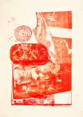 Prints:Contemporary, ROBERT RAUSCHENBERG (American, 1925-2008). Ape (From the StonedMoon Series), 1970. Lithograph in colors. Image: 36-1/2 ...