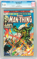 Bronze Age (1970-1979):Horror, Man-Thing #17 Western Penn pedigree (Marvel, 1975) CGC NM/MT 9.8White pages....