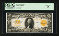 Large Size:Gold Certificates, Fr. 1187 $20 1922 Gold Certificate PCGS Choice New 63.. ...