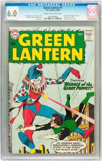 Green Lantern #1 (DC, 1960) CGC FN 6.0 Cream to off-white pages